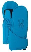 Spyder Blue Mini Cubby Ski Mittens