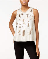 Rachel Roy Sequined Swing Top, Only at Macy's