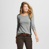 Mossimo Women's Long Sleeve Thermal Juniors')
