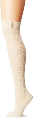 Pact Women's Pointelle Over the Knee Sock