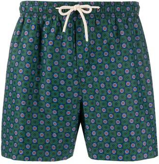 Peninsula Swimwear Isola di Gaiola M2 mesh-lined swimming trunks