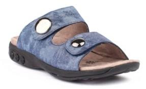 On Therafit Shoe Eva Leather Adjustable Strap Slip Sandal Women's Shoes