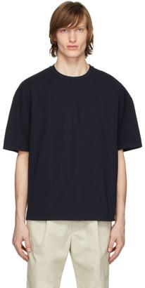 Deveaux New York Navy Oversized T-Shirt