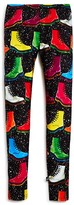 Terez Girls' Boot Print Leggings - Sizes 7-16