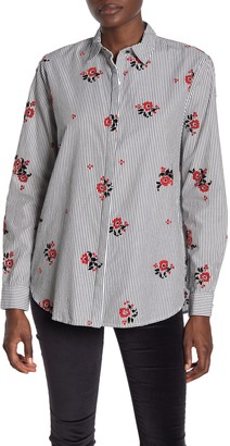 Scotch & Soda Allover Printed Button Up Shirt