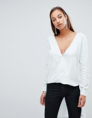 Forever Unique twist front blouse