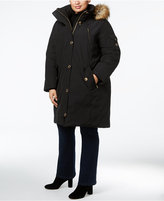 MICHAEL Michael Kors Size Faux-Fur-Trim Puffer Coat