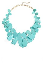 BaubleBar Women's 'Seaglass' Bib Necklace