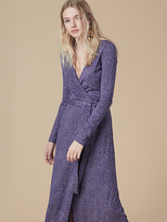 Diane von Furstenberg New Julian Long Wrap Dress