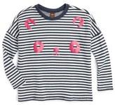 Tea Collection Toddler Girl's Tanoshii Double Knit Top
