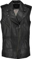 Current/Elliott The Moto Infantry leather vest