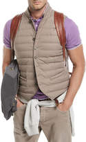 Brunello Cucinelli Nylon Quilted Gilet-Style Vest