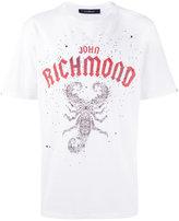 John Richmond scorpion print T-shirt - men - Cotton - XL