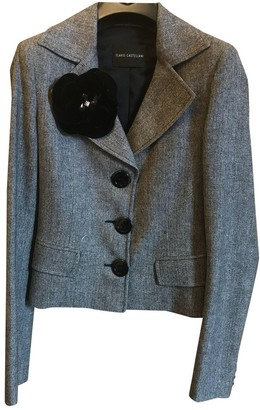 Flavio Castellani Grey Wool Jacket for Women