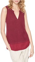 Sanctuary Women's City Linen Knit Tank