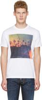 DSQUARED2 White Road Trip T-shirt