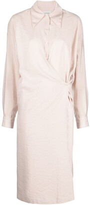 Lemaire Silk-Blend Shirt Dress