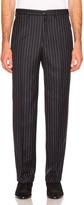 Cobra SC Classic Trouser in Navy Pinstripe | FWRD