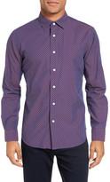 Slate & Stone Star Long Sleeve Trim Fit Shirt