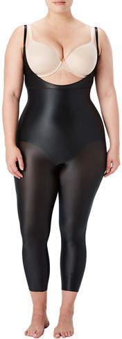 Spanx Plus Size Suit Your Fancy Open-Bust Catsuit
