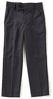 Class Club Gold Label Big Boys 8-20 Glen Plaid Pants