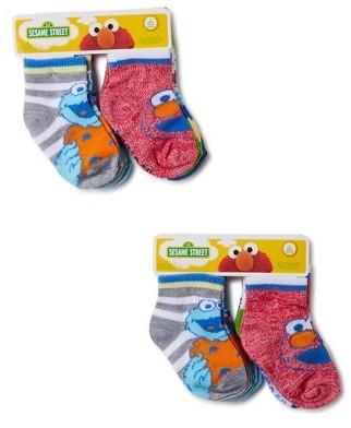 Sesame Street Toddler Boys and Girls Socks,12-Pack