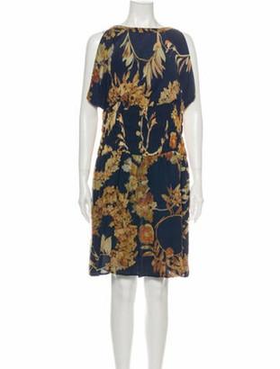 Chanel 2018 Knee-Length Dress Blue