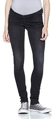 Noppies Women's Jeans OTB Skinny Avi Maternity (Black Denim C309), W x 32L