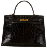 Hermes Crocodile Kelly Sellier 35