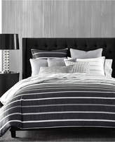 Hotel Collection Colonnade Dusk Twin Duvet Cover, Created for Macy's