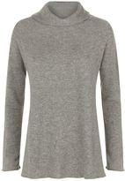 Lamberto Losani Cashmere Cowl Neck Sweater