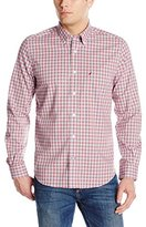 Nautica Men's Wrinkle Resistant Gingham Shirt