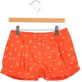 Stella McCartney Girls' Floral Print Shorts