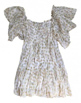 Diane von Furstenberg White Silk Dresses