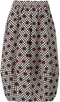 Ultràchic checkered hearts skirt