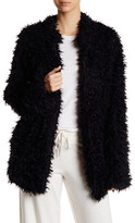 PJ Salvage Faux Fur Shaggy Cardigan