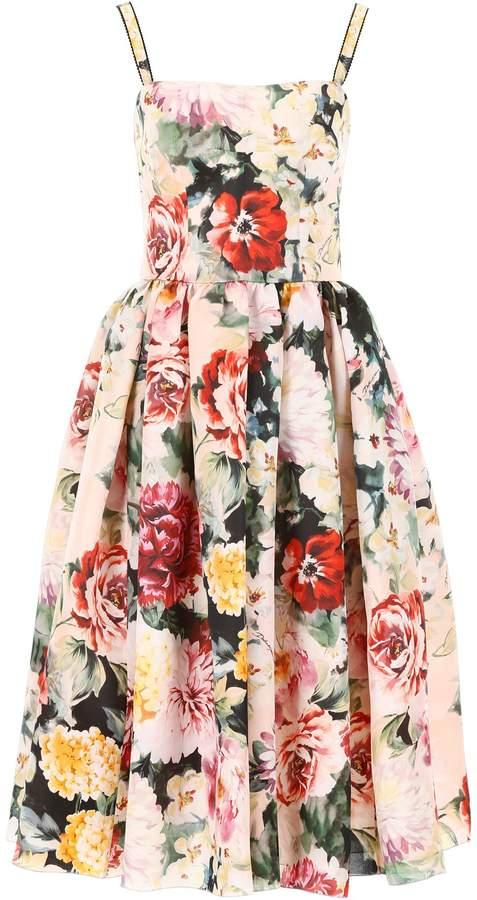 5741f967 Dolce Gabbana Organza Dress - ShopStyle