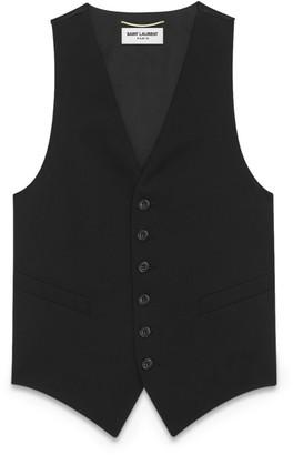 Saint Laurent Wool Waistcoat