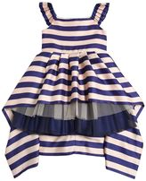 Junior Gaultier Doubled Satin & Stretch Tulle Dress
