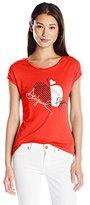 Desigual Women's Knitted T-Shirt Short Sleeve 48