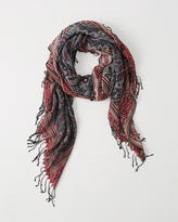 Abercrombie & Fitch Rectangle Scarf