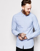Dr Denim Pete Slim Fit Shirt Oxford