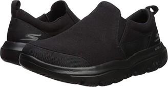 SKECHERS Performance Go Walk Evolution Ultra - 54736 (Black) Men's Slip on Shoes