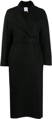 Agnona Belted Longline Coat