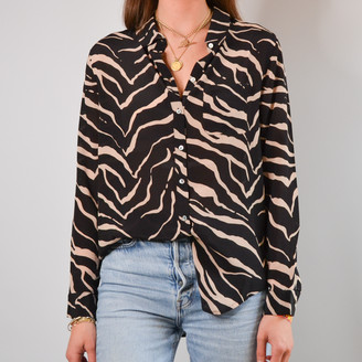 Lily & Lionel Willow & Wolf Tiger Black Classic Shirt - S