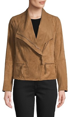 Max Studio Asymmetrical Zip-Front Jacket
