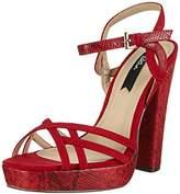 Blink Women's BlilianL Open Toe Sandals Red Size: 6