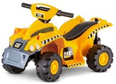 Pacific Cycle Kid Trax CAT 6V Quad Ride On