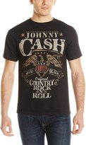 Zion Rootswear Men's Johnny Cash Rock N Roll T Shirt
