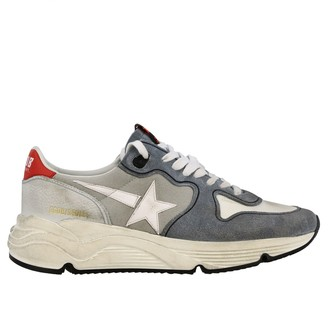 Golden Goose Sneakers Running Sneakers In Canvas Suede And Leather